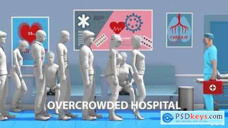 Overcrowded Medical Center 26635968