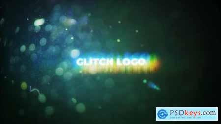 Flare Glitch Logo Mogrt 26599077