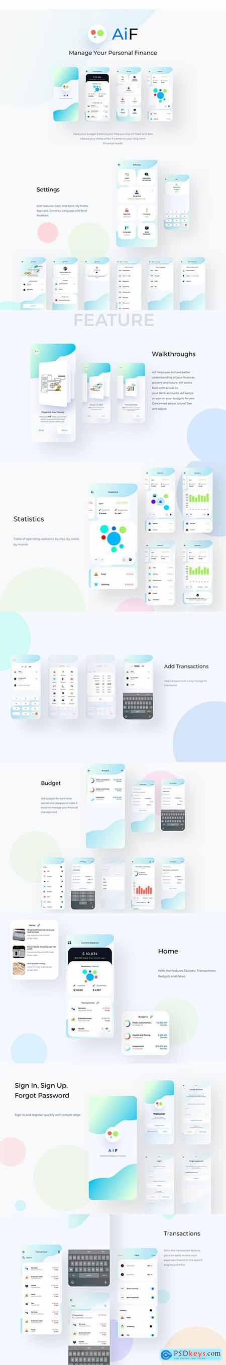 AiF Ai Finance Mobile App