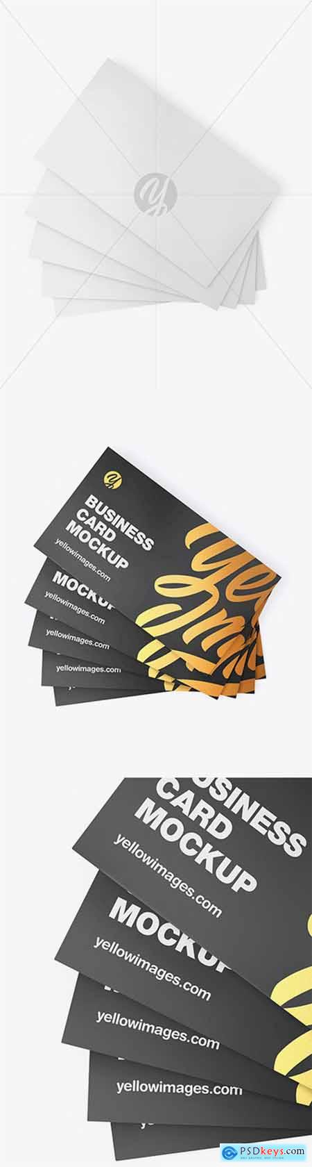 Business Cards Mockup 55237