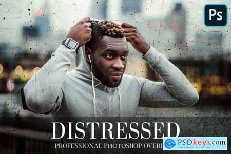 Distressed Overlays Photoshop 4936132