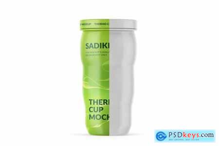 Matte Thermo Cup Mockup 4035711