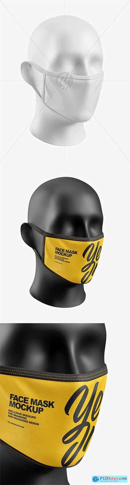 Face Mask Mockup 58114