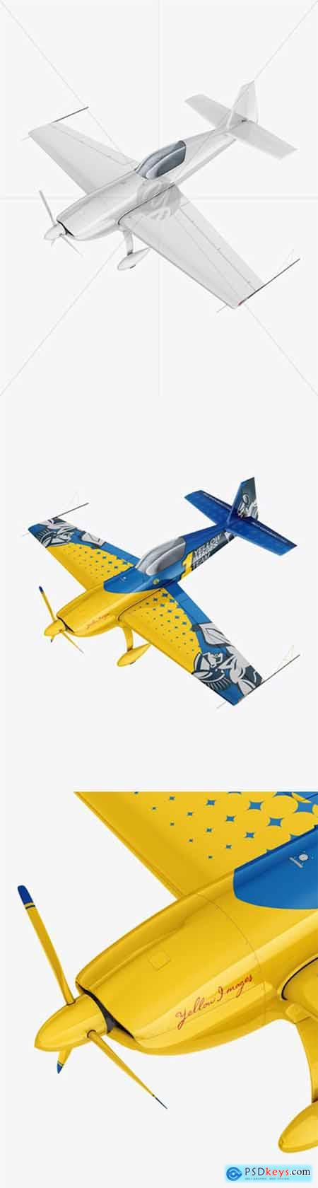 Sport Airplane Mockup - Half Side View 56008