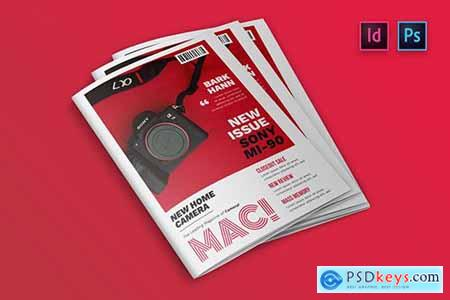 Photography Magazine Cover Indesign Template