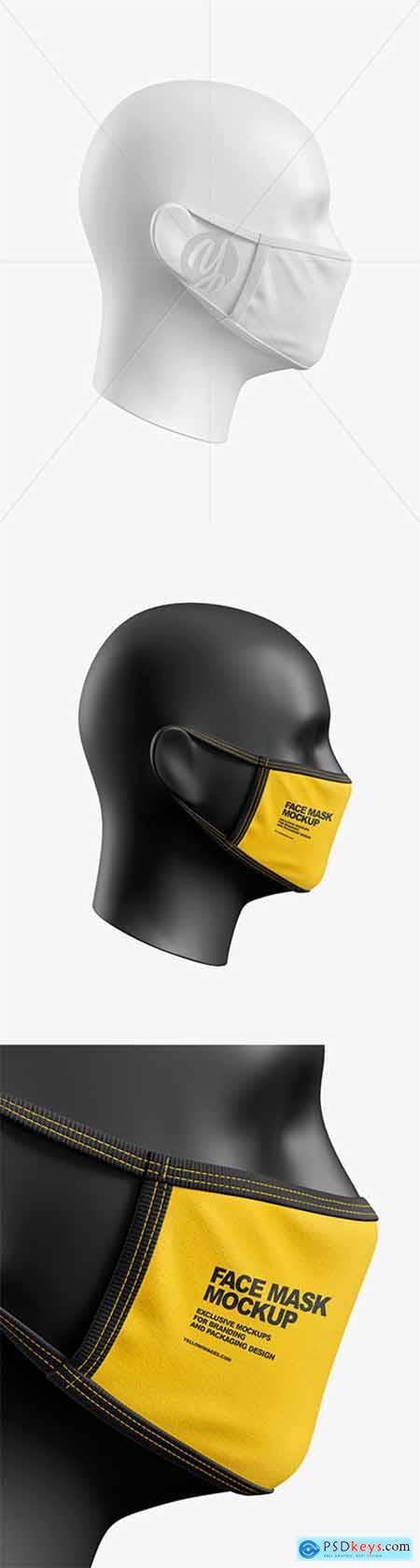 Face Mask Mockup 58239