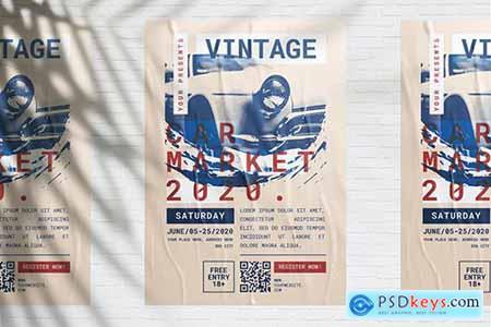 Vintage Car Market Flyer248