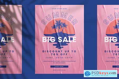 Summer Big Sale Flyer