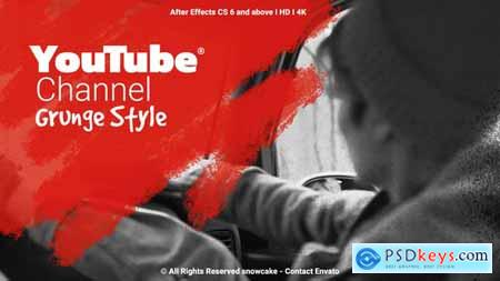 YouTube Channel Grunge Style 26592493