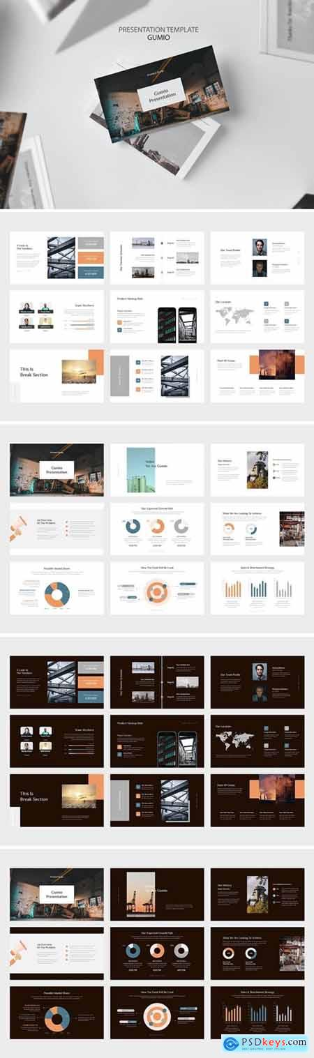 Gumio Powerpoint, Keynote and Google Slides Templates
