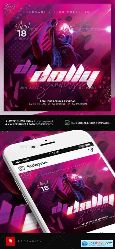 Guest DJ Flyer 25681805