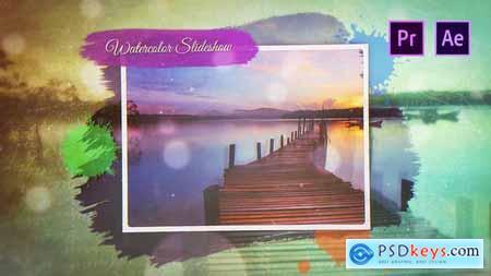 Watercolor Slideshow 25515057