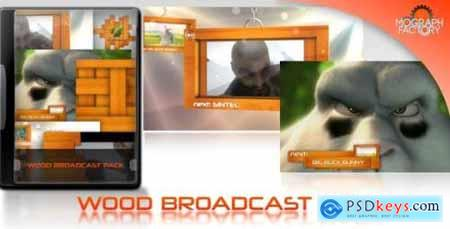 Wood Broadcast Pack 4632508