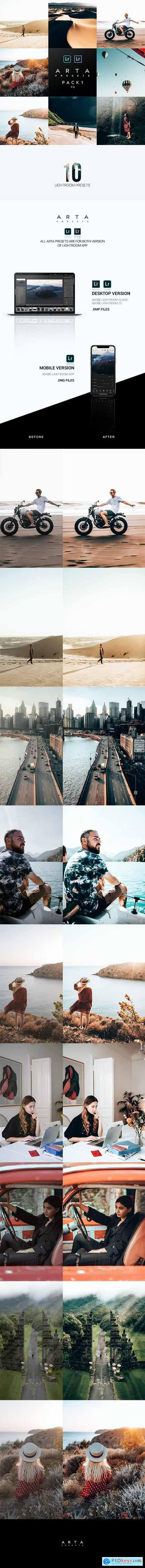 ARTA Preset Pack 1 v2 For Mobile and Desktop Lightroom 26532880