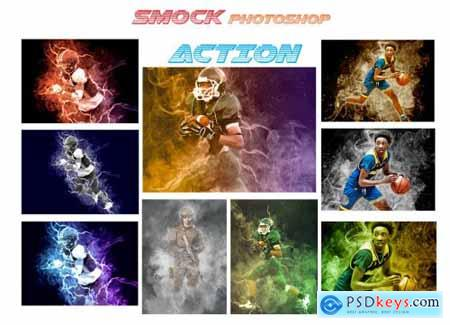 Smock Photoshop Action 4640009