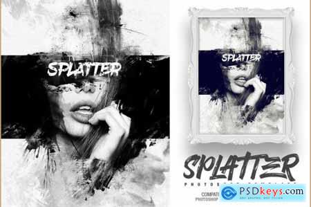 Splatter Photo Template 4629580