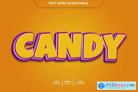 Cartoon 3d text style effect