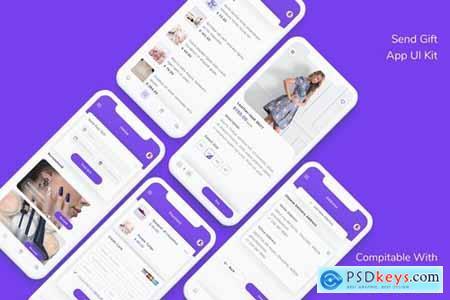 Send Gift App UI Kit