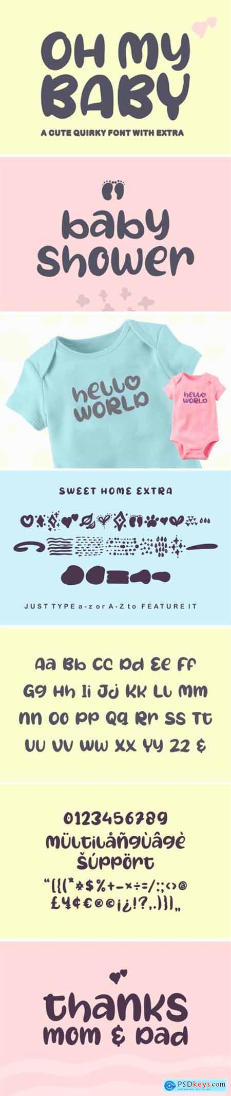 Oh My Baby Font