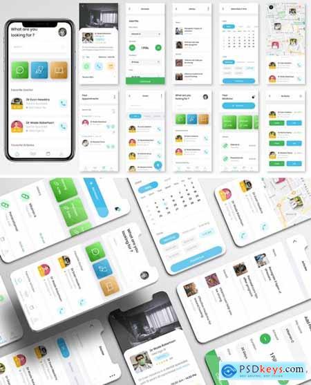 Wecare UI Kit - Healthcare Apps
