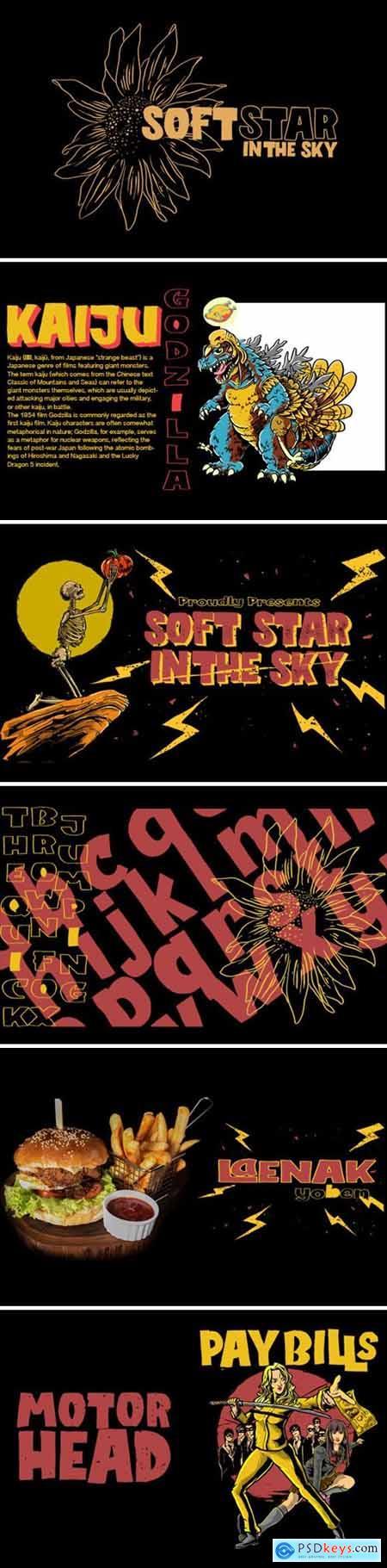 SoftStar Font
