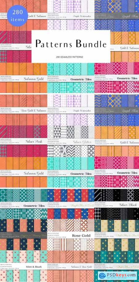 Seamless Patterns Bundle 4143576