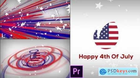 Fresh & July 4th Patriotic Logo Opener Premiere Pro 26716702