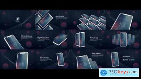 Mobile App Promo UI Presentation 23936058