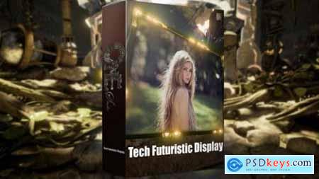 Tech Futuristic Display 17957928