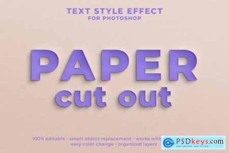 Psd editable text effect style template