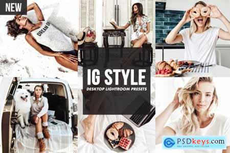 Desktop Lightroom Presets IG STYLE 4817654