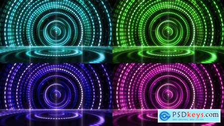 Retro Stage Awards Lighting Background 03 21840170