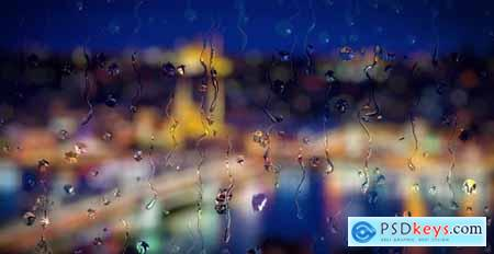 Raindrops on Window 24069714
