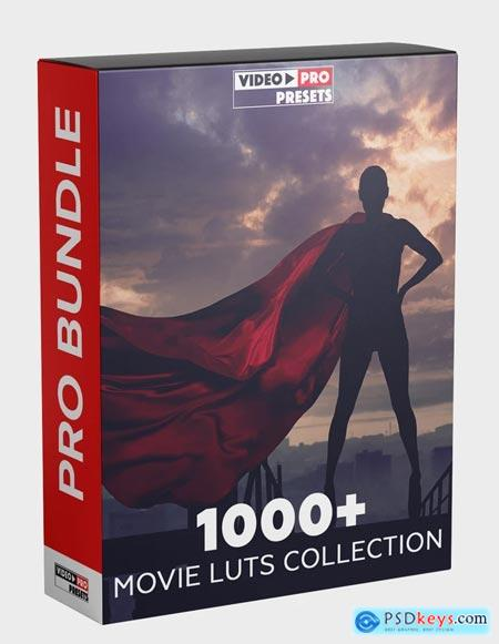 Video-Presets 1000+ MOVIE LUTS COLLECTION [2020]