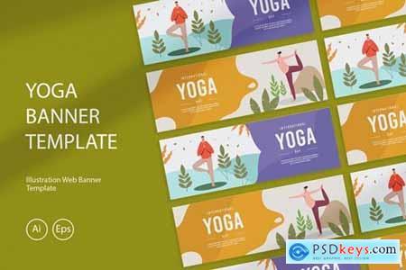 International Yoga Day Banner XWNTXU3