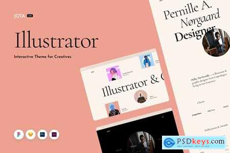 Jota Multipurpose Creative Portfolio Web Template