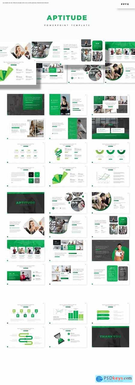Aptitude Powerpoint, Keynote and Google Slides Templates