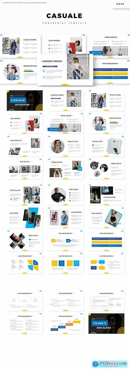 Casuale - Powerpoint Template