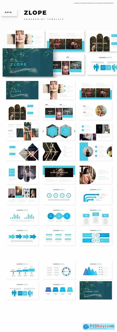 Zlope Powerpoint, Keynote and Google Slides Templates