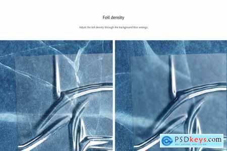 Plastic Foil Overlay Mockups 4944216