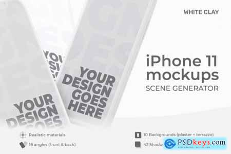 iPhone 11 Scene Creator Light Clay 4847757