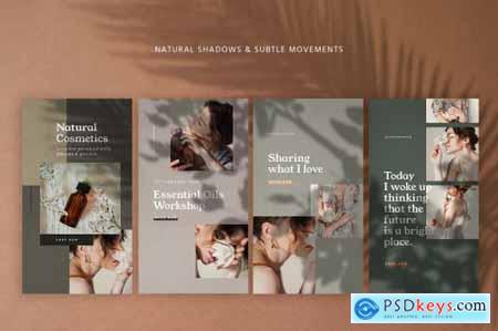 Natural Shadows Stories - Social Kit 3210766