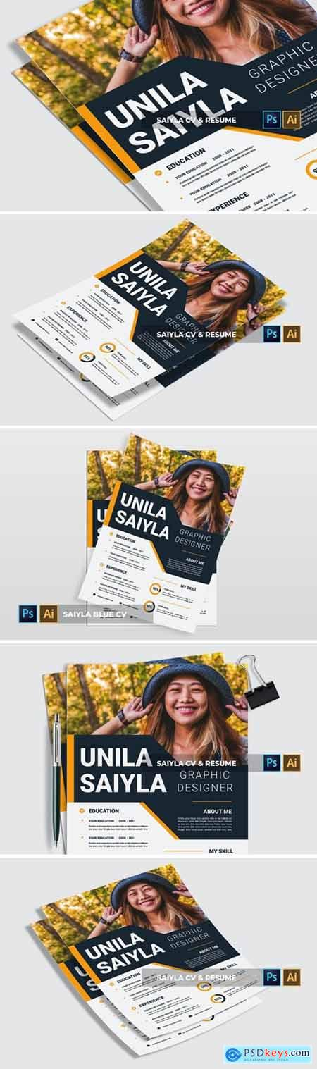 Saiyla - CV & Resume