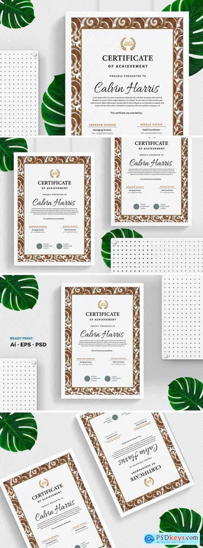 Classic Certificate - Diploma Template