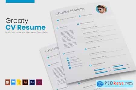 Greaty - CV & Resume