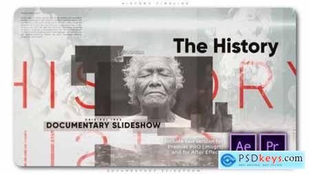 History Timeline Documentary Slideshow 26752846