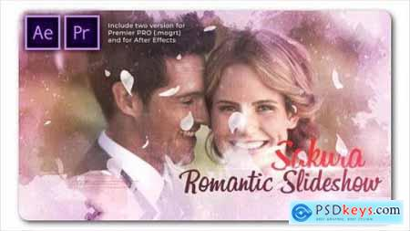 Sakura Wedding Cinematic Slideshow 26752713