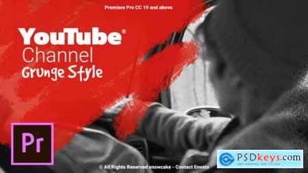 YouTube Channel Grunge Style For Premiere Pro 26662028