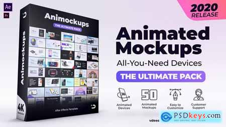 Animated Mockups Ultimate Pack 26371337