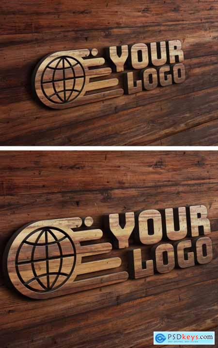 Wood Relief Text Effect Layout 351341352